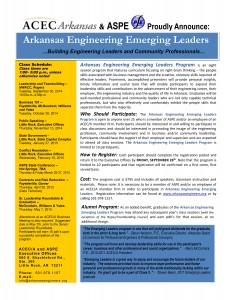 Emerging Leaders Marketing Brochure 2014-2015