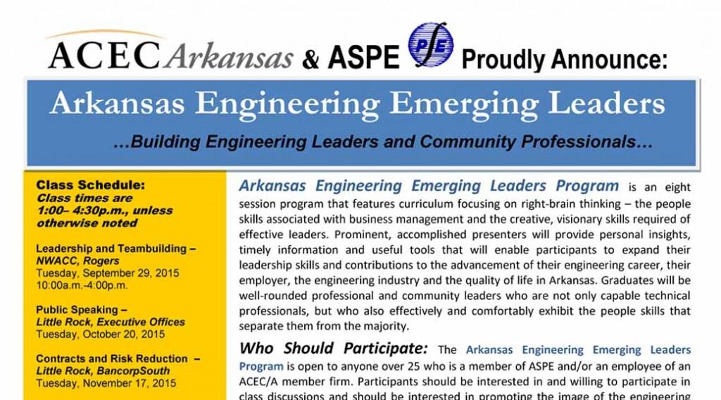 Arkansas Engineering Emerging Leaders