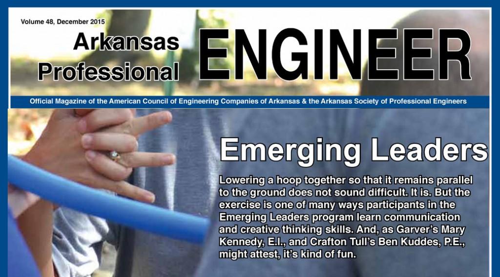 Arkansas Professional Engineer Magazine December 2015